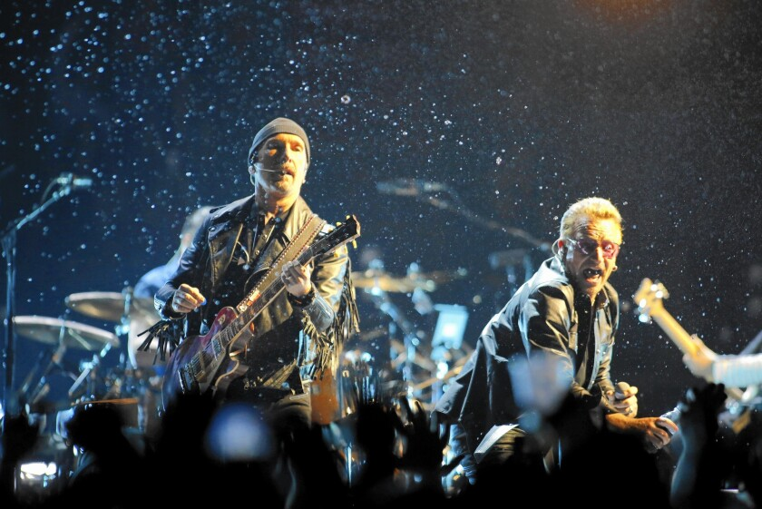 U2 at the Forum