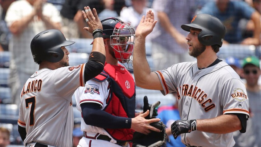 Pitchers in the home-run derby? Maybe just Giants ace Madison Bumgarner