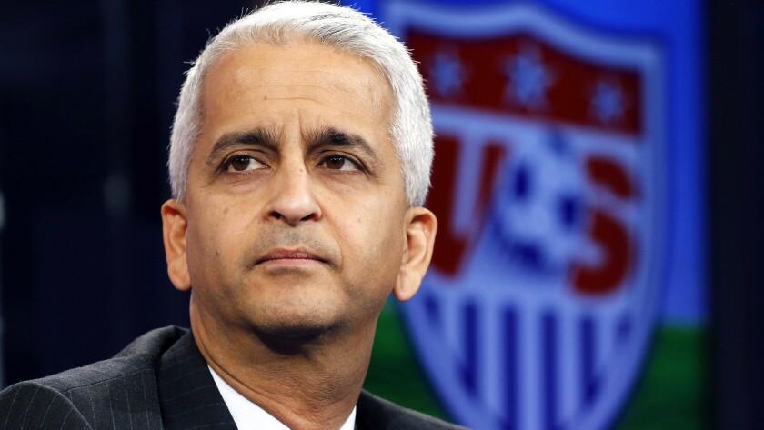 Sunil Gulati, president of the U.S. Soccer Federation.