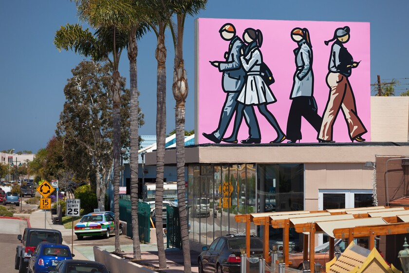 Julian Opie: Walking in the City: Murals of La Jolla