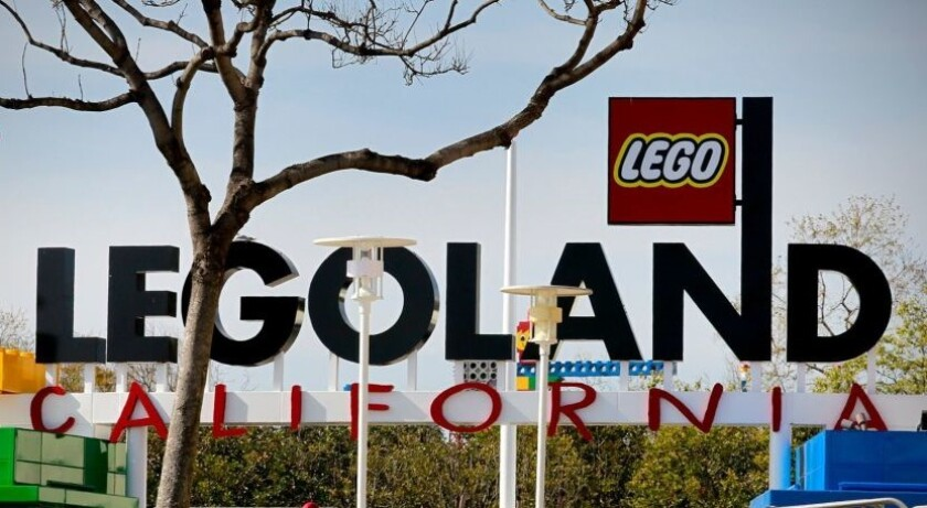Legoland, which employs 3,000 people in Carlsbad, is a non-essential business closed by the COVID-19 crisis.