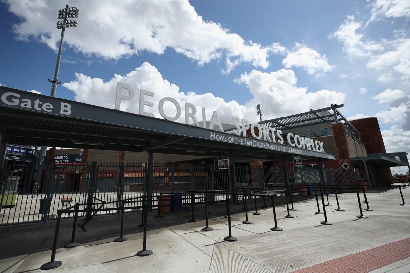 The Peoria Sports Complex.