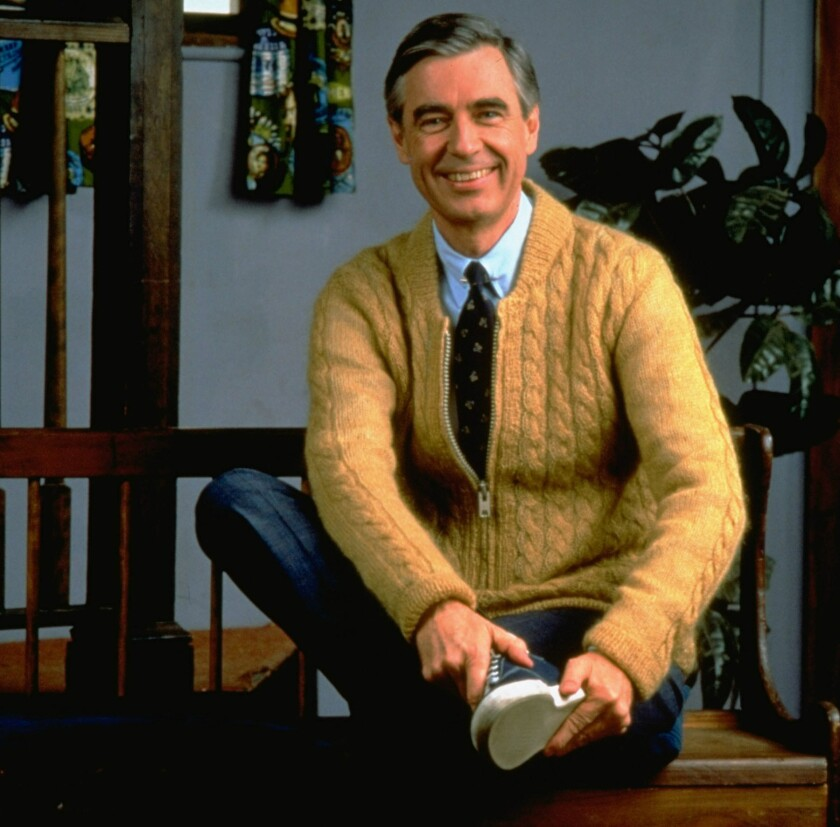 Fred Rogers in 1996.