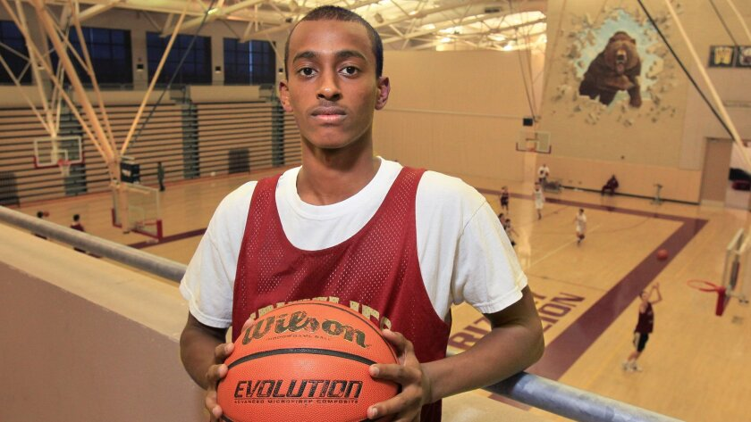 Mission Hills point guard Kibret Woldemichel has helped the Grizzlies achieve a No. 6 ranking in the San Diego Section.
