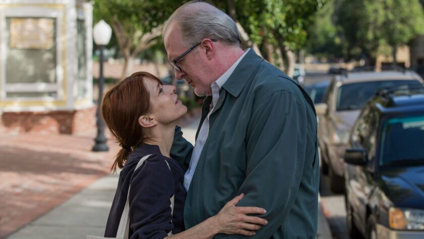 """Melora Walters as Lucy and Tracy Letts as Michael in """"The Lovers."""""""