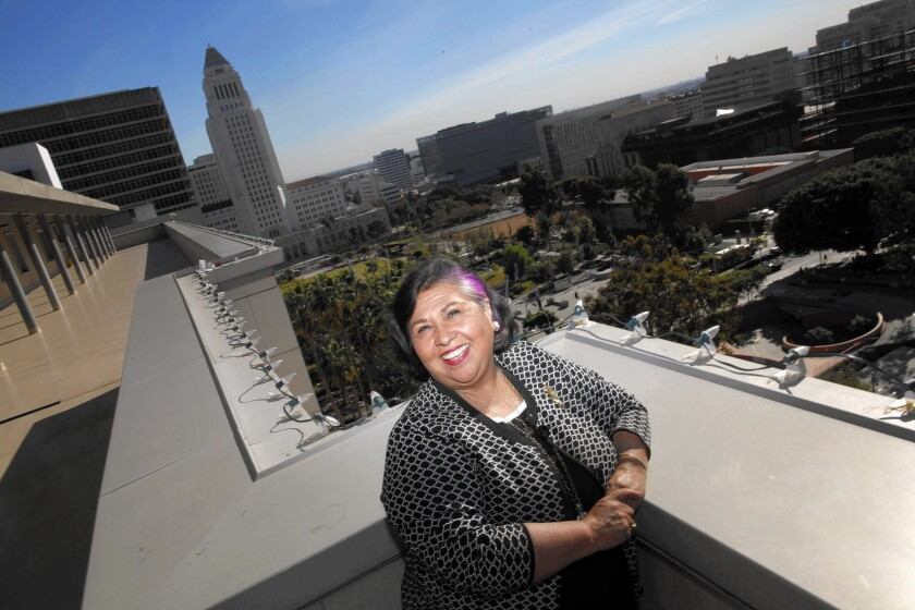Supervisor Gloria Molina has represented East Los Angeles on the L.A. County Board of Supervisors for 23 years. The 66-year-old is being forced from office by term limits, but she doesn't plan to retire.