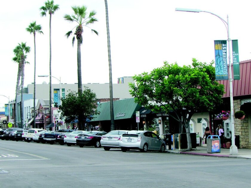 LJVMA uses money to beautify and promote the Village from an annual fee on merchants in La Jolla's business improvement district (BID), which includes businesses between the coast and Pearl Street/Torrey Pines Road.