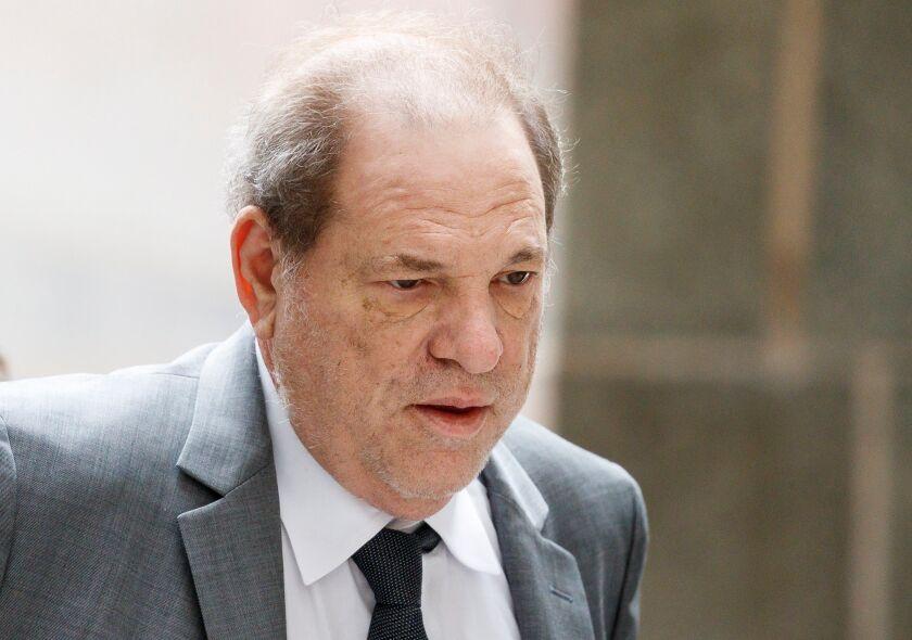 Harvey Weinstein Court Hearing
