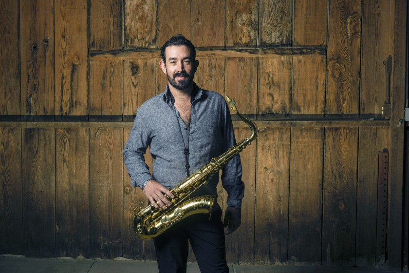 Ross Rizzo Jr. is a professional saxophonist in San Diego.