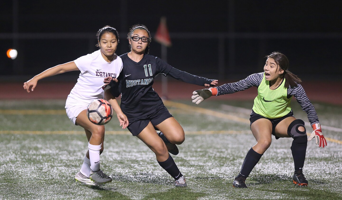 Photo Gallery: Estancia vs. Costa Mesa in girls' soccer
