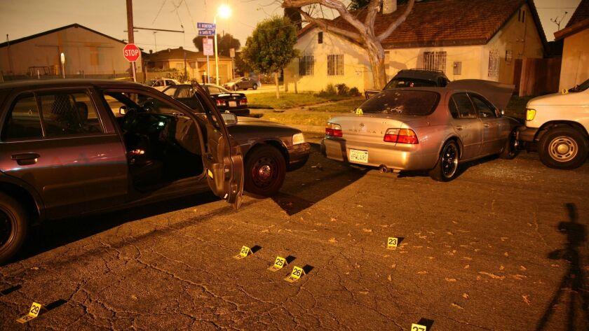 LASD deputies claimed Alfredo Montalvo backed his Nissan Maxima into a police car repeatedly and vio