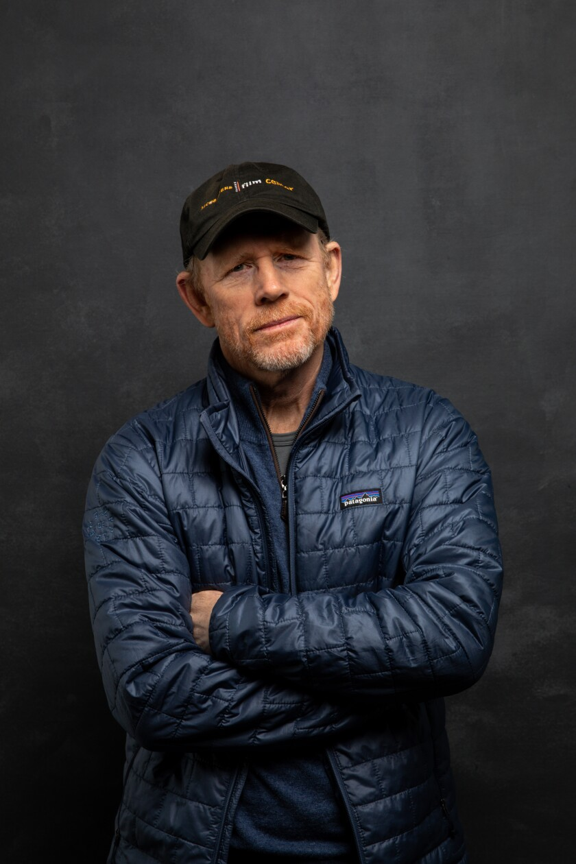 Ron Howard at the 2020 Sundance Film Festival