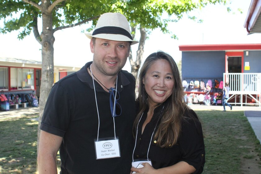 Science Discovery Day co-chairs Nadir Weibel and Kathrine Williams