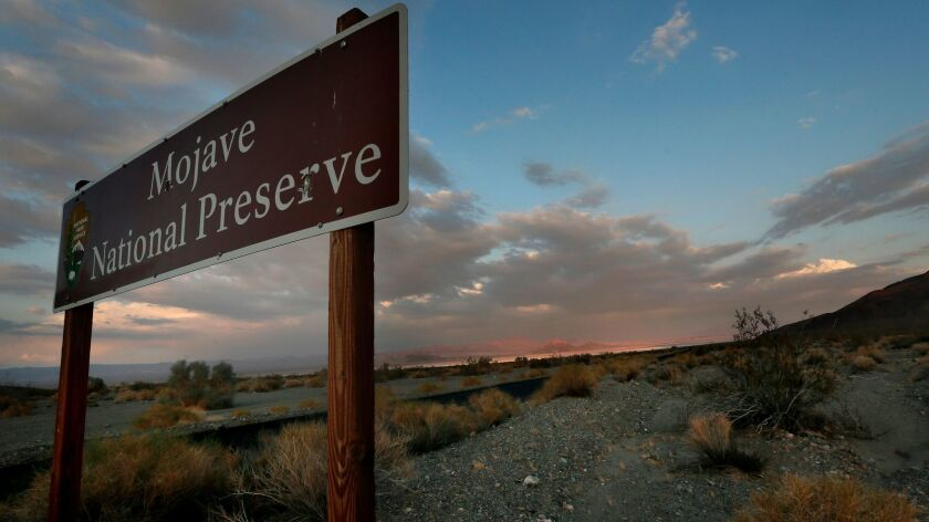 Nonprofit land trust turns over 3,000 acres to Mojave National Preserve