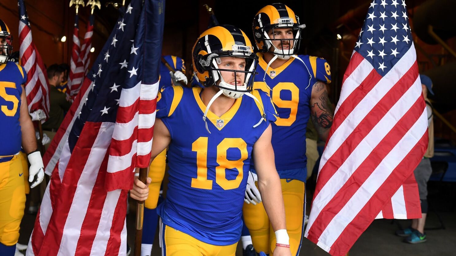 Cooper Kupp Has Caught Up In Return To Rams From Knee Injury Los Angeles Times