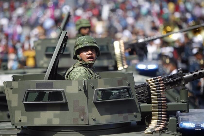 """El Departamento de Estado aprobó hoy la venta de un paquete de armas a México por valor de 98,4 millones de dólares para reforzar su seguridad mediante el apoyo a un """"socio estratégico"""". EFE/ARCHIVO"""