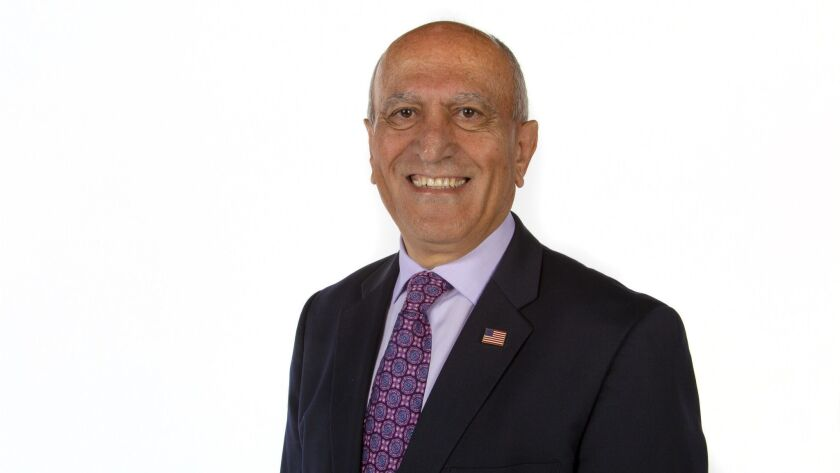 Sam Abed was elected mayor of Escondido in 2010.