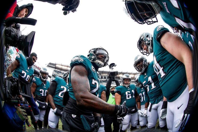 Los Eagles de Filadelfia, monarcas de la NFL.