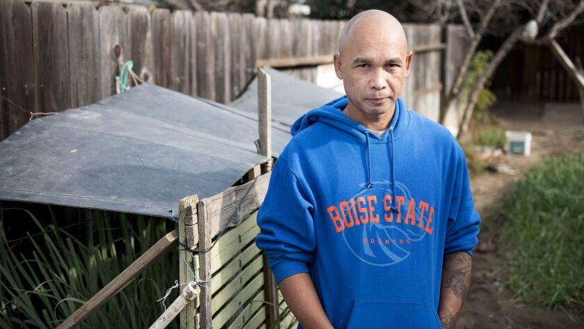 Modesto resident Mony Neth, 43, a Cambodian refugee, came to the U.S. with his parents as a 10-year-