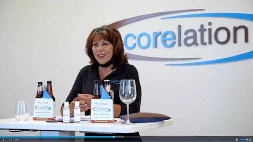 Theresa Benavidez, CEO of Corelation
