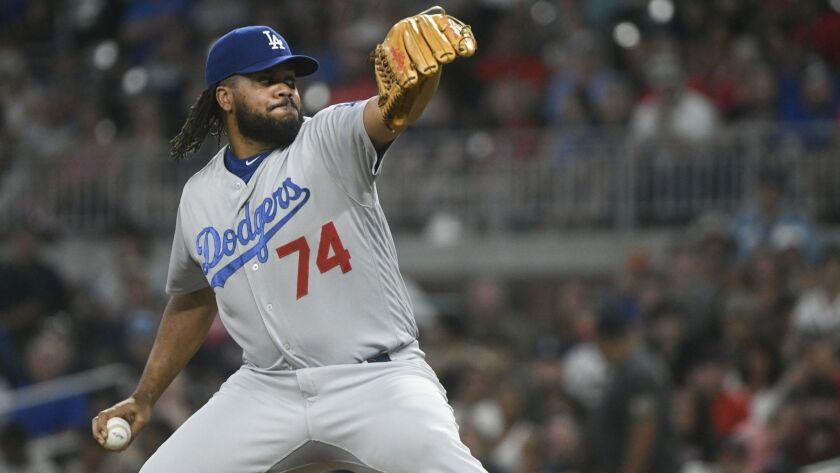 Closer Kenley Jansen, who did not travel with the Dodgers to Denver to face the Colorado Rockies, rejoined the club Monday in Cincinnati.
