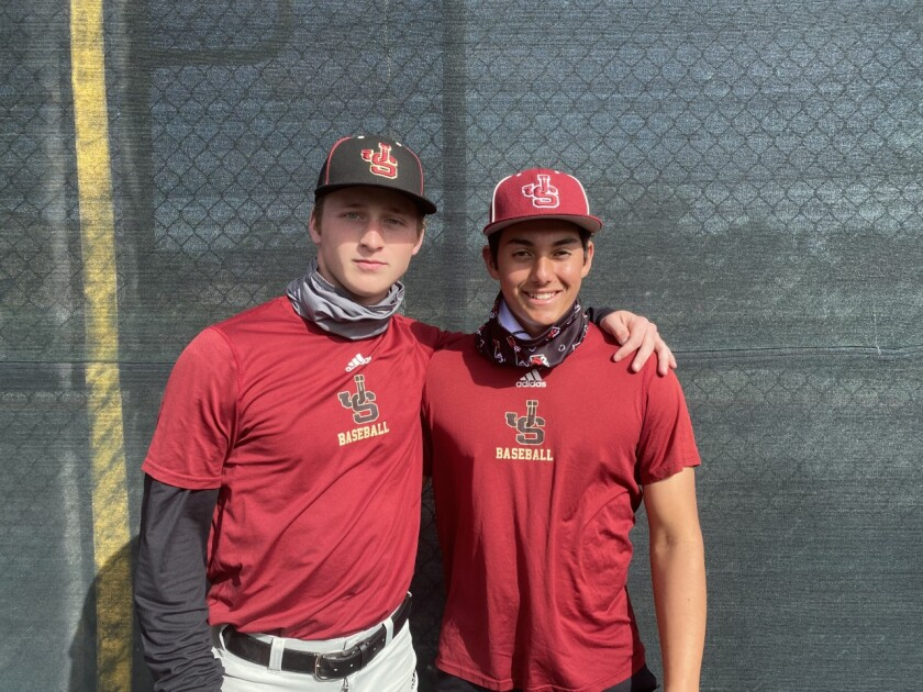 Cody Schrier and Gage Jump of JSerra will end their high school careers Saturday in the Division I regional final.
