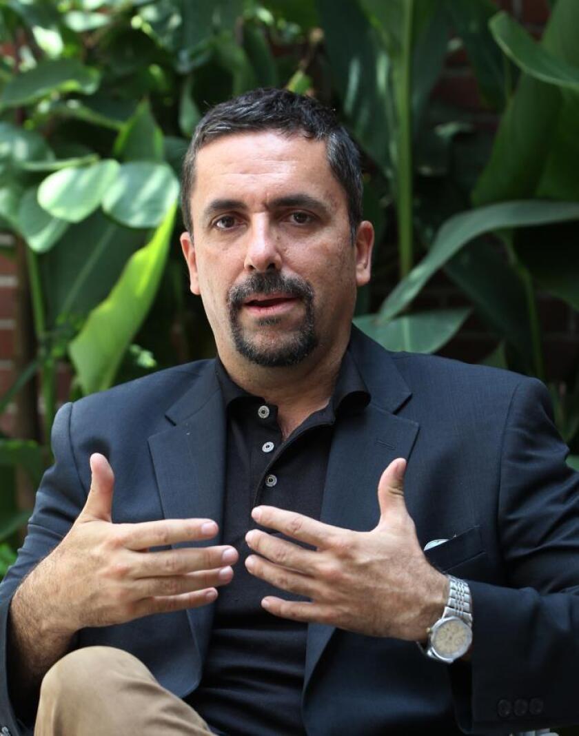 El cantante de ópera y música tradicional mexicana Rafael Jorge Negrete habla en entrevista con Efe, el 16 de agosto de 2019, en Ciudad de México (México). EFE/Mario Guzmán