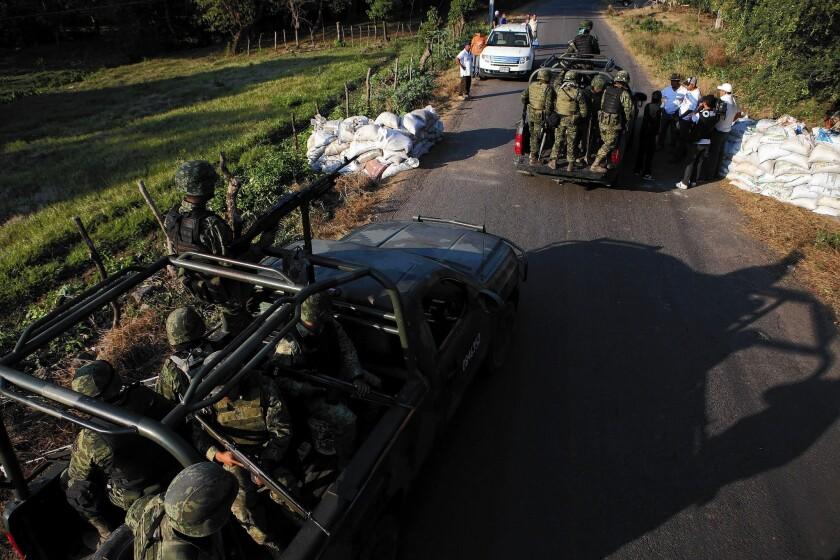 Michoacan militia