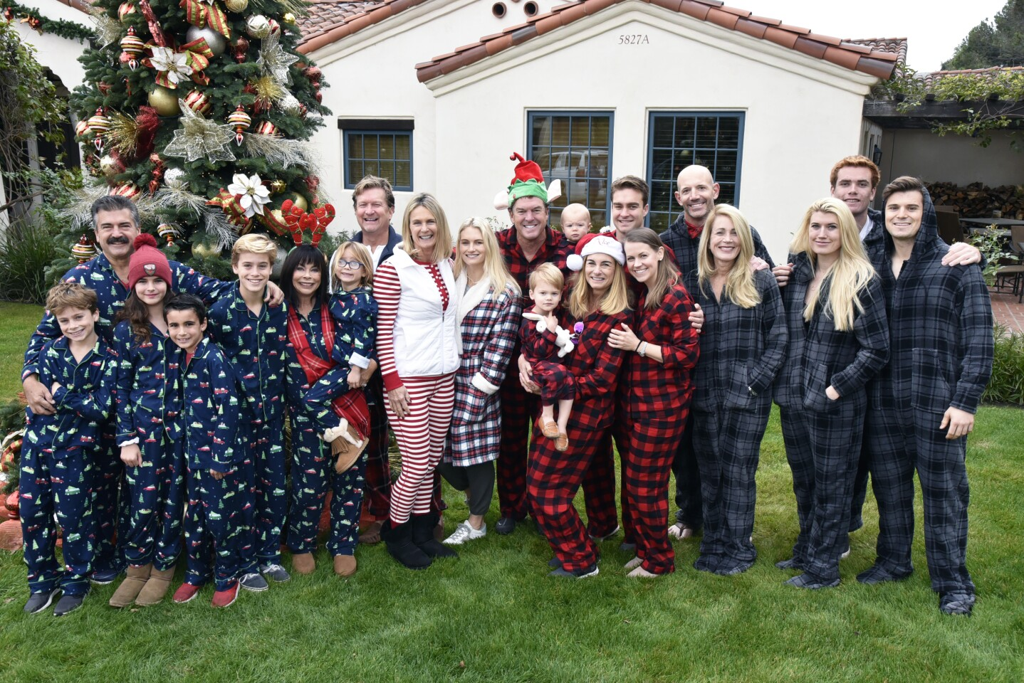 The Sides family, the Marks family, the Anderson and Hagestad families