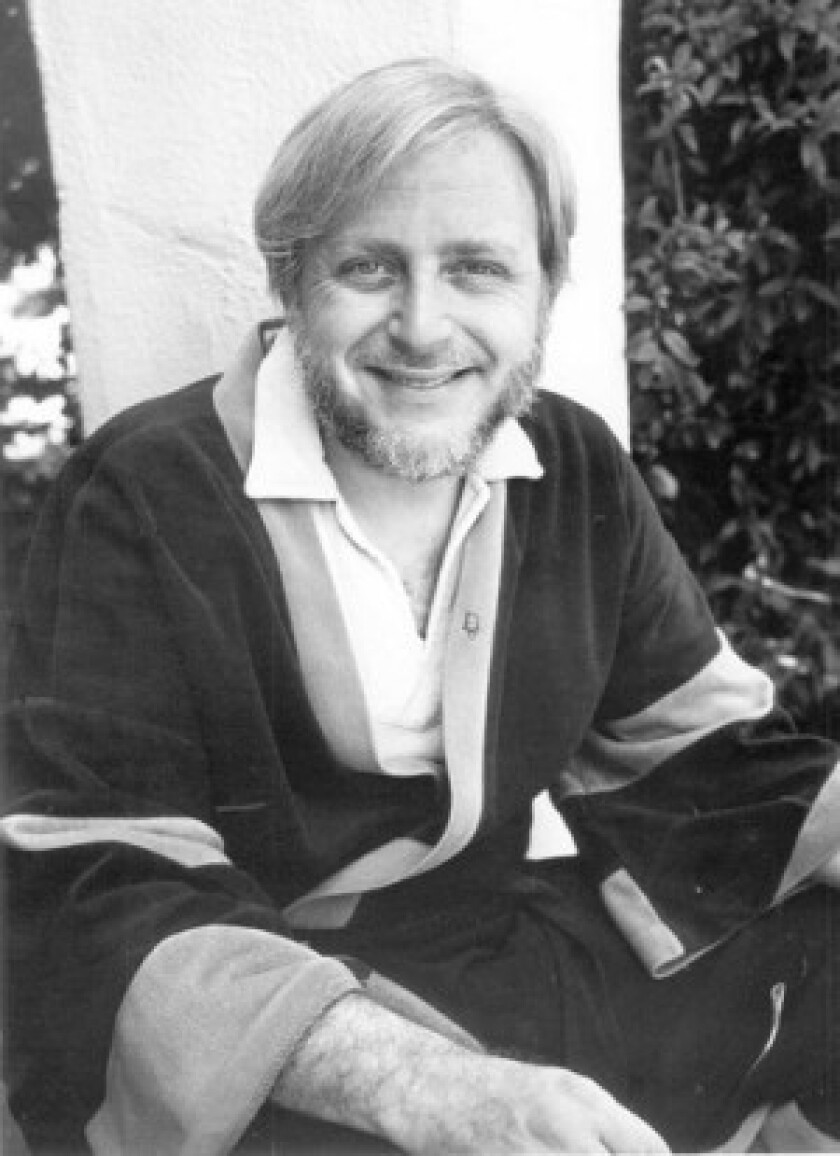 """Dan O'Bannon, shown in 1985, wrote the script for the 1979 film """"Alien"""" and also wrote and directed other sci-fi and horror films."""