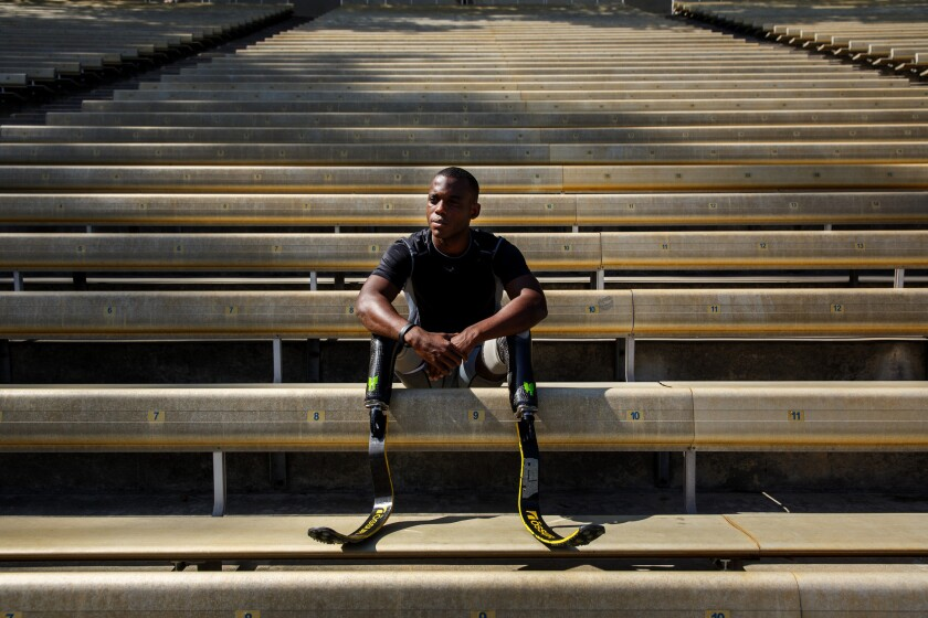 Blake Leeper runs for redemption, and a place in the Paralympics and Olympics