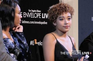 Amandla Sternberg on playing multiple versions of her 'Hate U Give' character