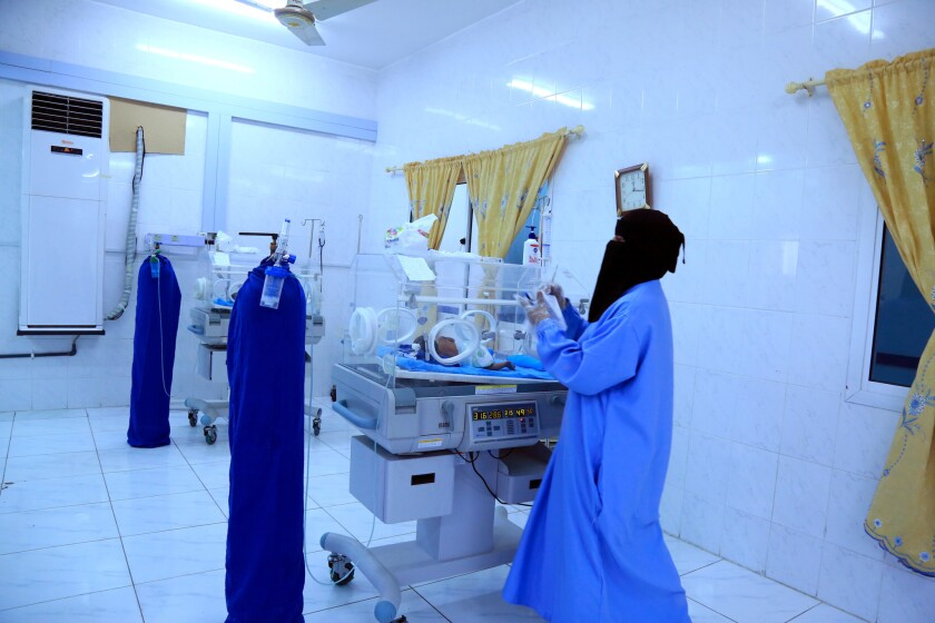 The United Arab Emirates has been refurbishing hospitals in Mukalla,Yemen.