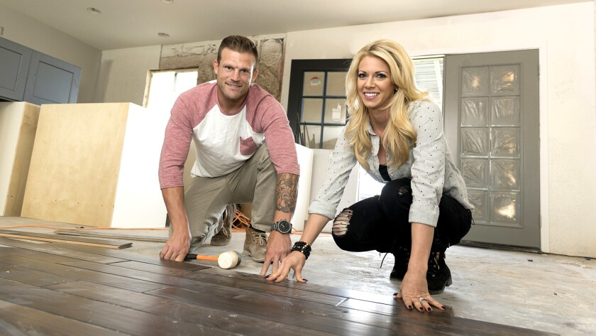 """Bristol and Aubrey Marunde are the hosts of """"Flip or Flop Vegas."""""""