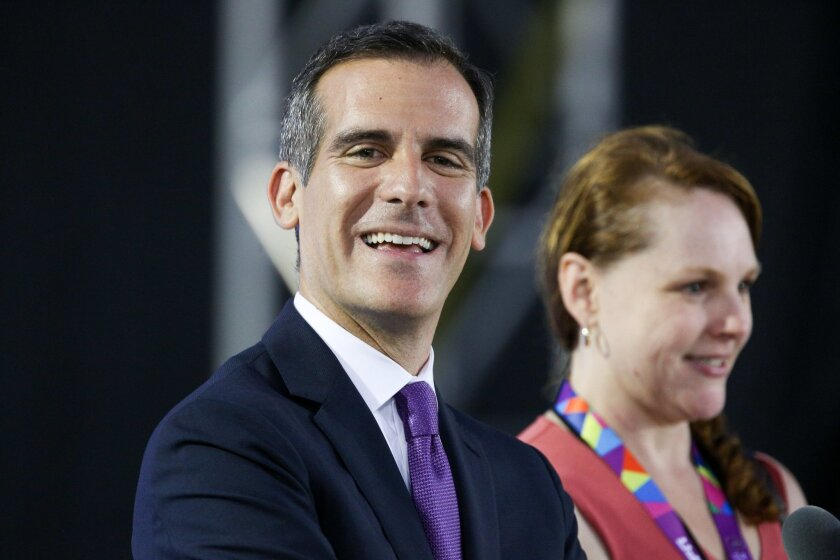 Mayor Eric Garcetti has predicted no public money would be needed for the 2024 Olympics if held in Los Angeles.