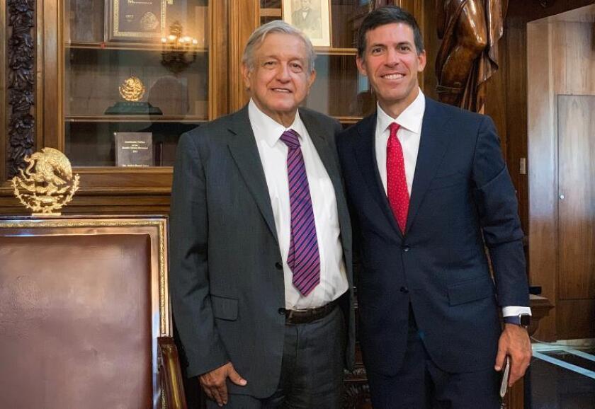 """López Obrador: presidente de Goldman Sachs """"expresó su confianza en México"""""""