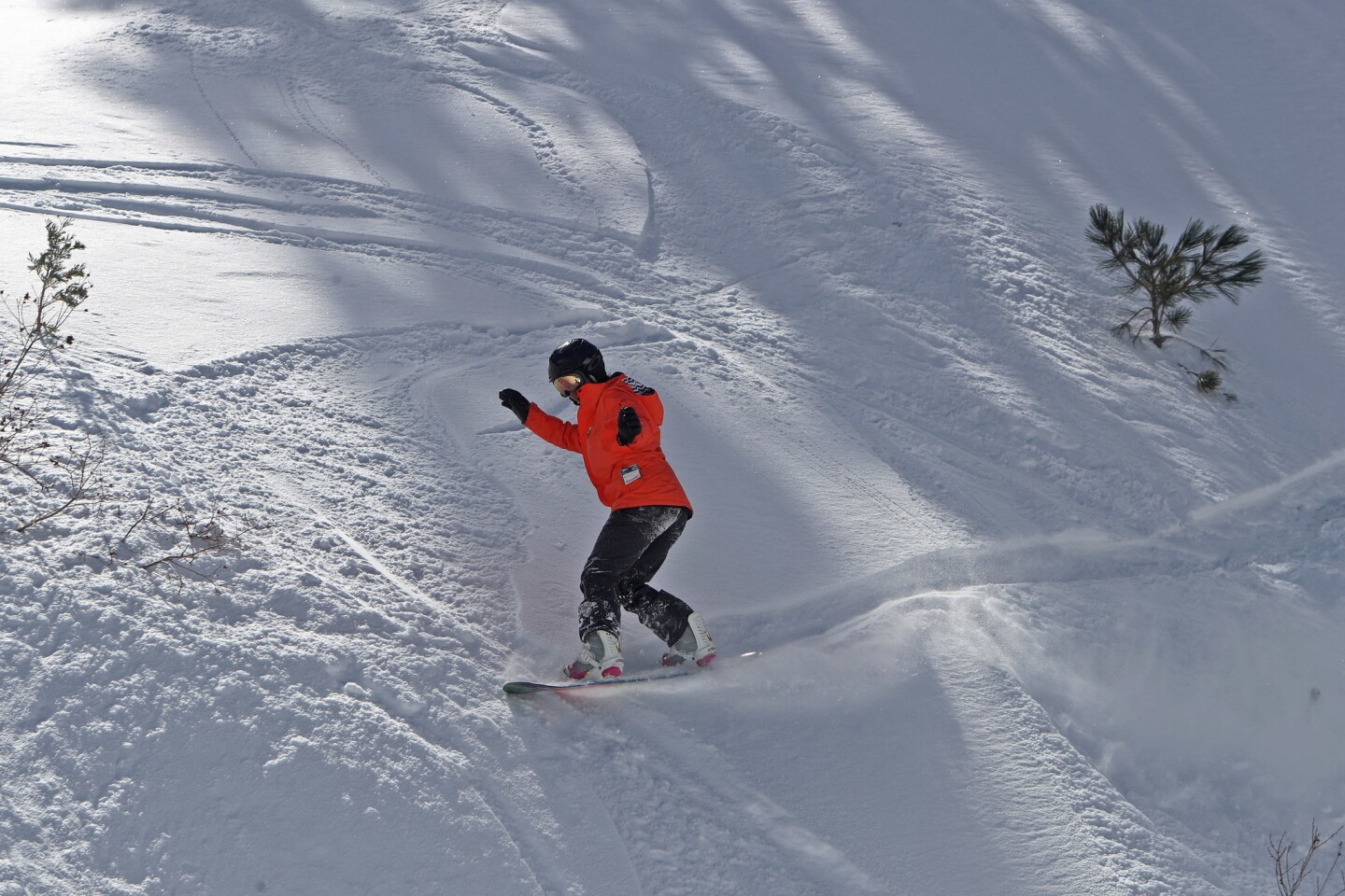 Photo Gallery: Mt. Waterman ski resort remains closed, skiers still enjoy powder conditions by hiking