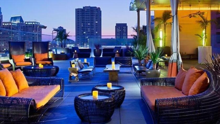 The rooftop at Andaz San Diego (sandiego.andaz.hyatt.com)