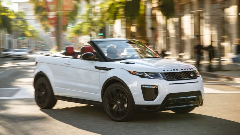 2017 Land Rover Evoque Convertible a four-seat droptop with few compromises.