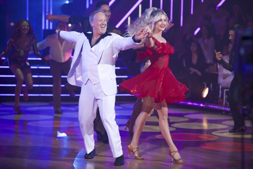 President Trump campaigns for Sean Spicer ahead of 'Dancing With the Stars'
