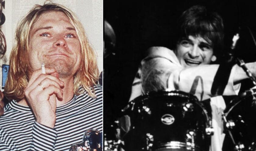 Kurt Cobain and Dallas Taylor