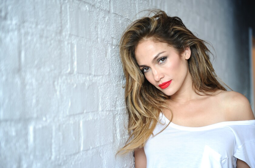 Singer and actress Jennifer Lopez
