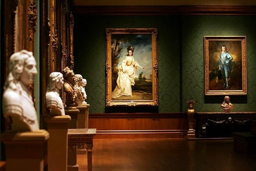 The Huntington Library, Art Museum and Botanical Gardens' art collection