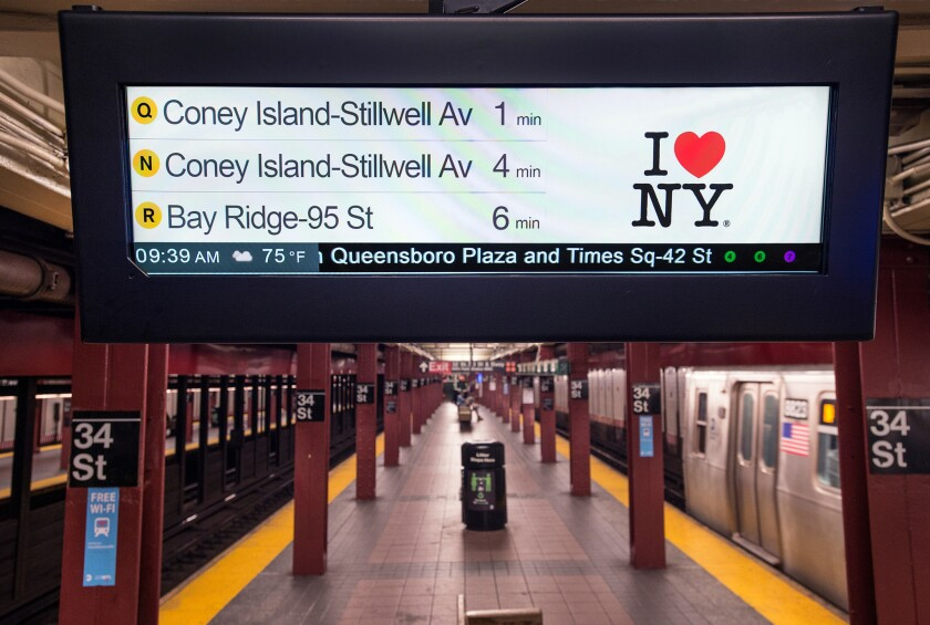 NYC Transit officials are implementing their Save Safe Seconds program to cut 10,000 delays a month, with a 12.5% reduction in late trains on each line.