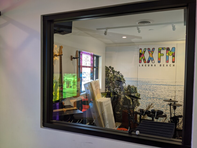 KX FM, Laguna Beach's only FM radio station, announced it would be changing its frequency to 104.7 after eight years of broadcasting on 93.5.