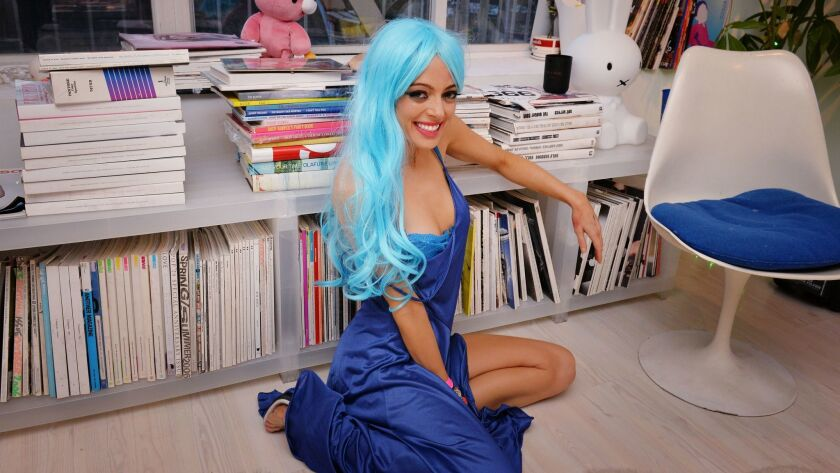 """Cat Marnell, author of the book """"How To Murder Your Life."""""""