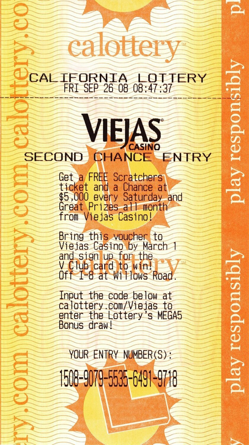 Viejas teams up with California Lottery - The San Diego