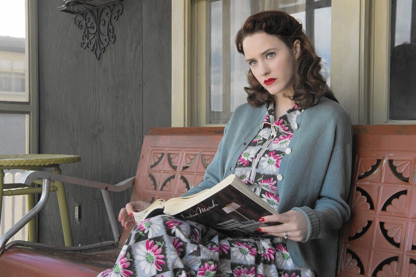 Rachel Brosnahan of 'Manhattan' undertakes her own special fashion project