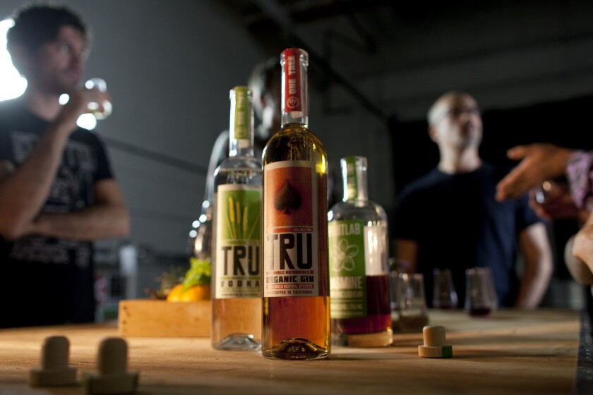 TRU Organic Gin is just one of the many spirits based in Southern California.