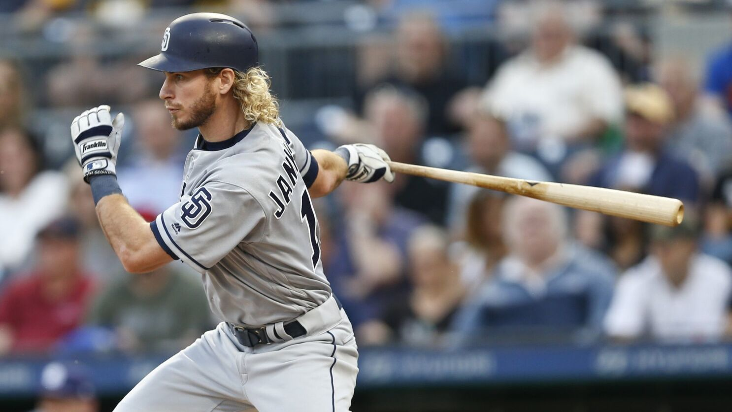 cf91a7229 The new Travis Jankowski sticking to plan as Padres leadoff hitter - The  San Diego Union-Tribune